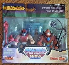 Masters of the Universe Mini Zodac & Beast Man Figures  - $20.99