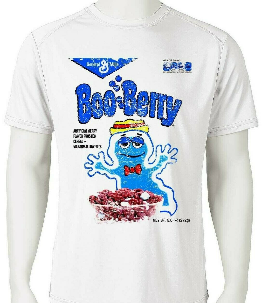 Boo Berry Dri Fit graphic T-shirt moisture wicking monster cereal retro SPF tee