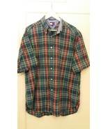 Tommy Hilfiger Men Shirt 100% Cotton Size XL Made In India - $10.15