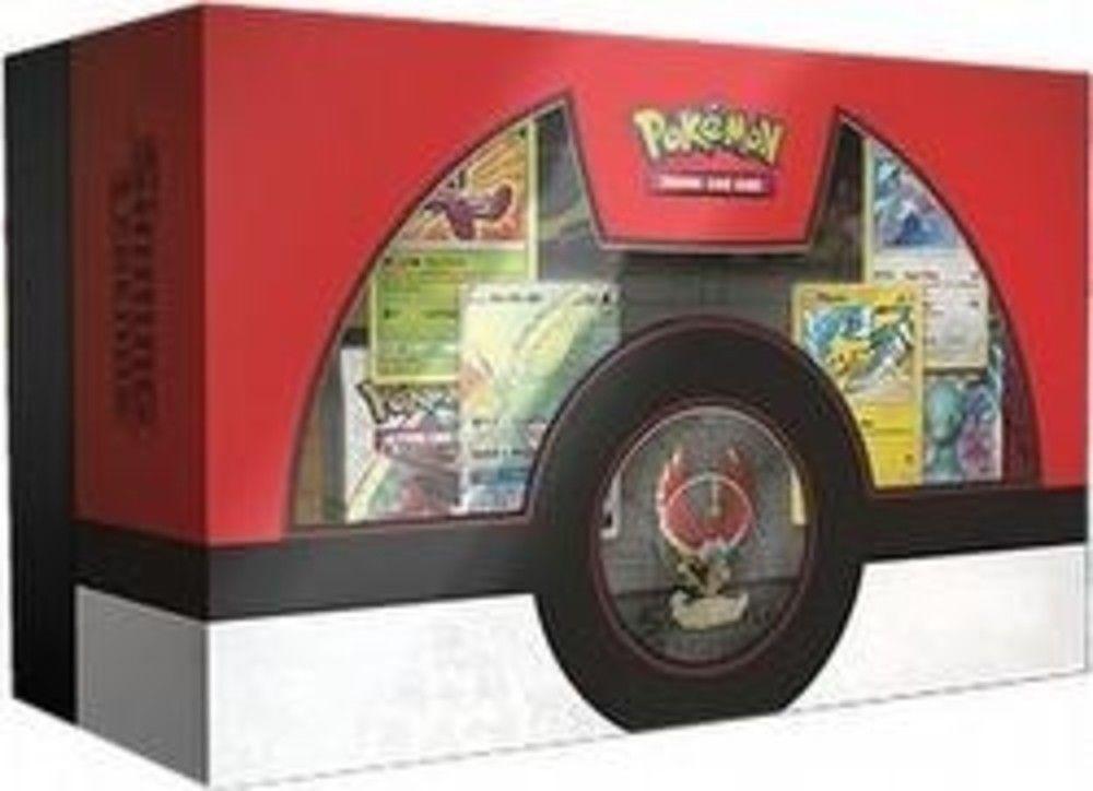 Pokemon TCG Shining Legends Raichu GX Collection Box and Ho-Oh Super Premium Box