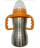 RIANZ Thermal Insulation Stainless Steel Baby Feeding Bottle - 290ml (Co... - $35.12