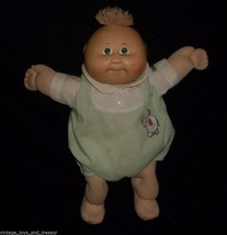 Vintage Cabbage Patch Kids Boy Blonde Patch Hair Stuffed Animal Plush Toy Doll B - $26.65