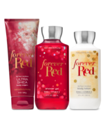Bath & Body Works Forever Red Trinity Gift Set - $44.95
