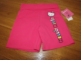 Girls Hello Kitty pink long Shorts 3T 3 HK55258 NWT^^ - $8.35