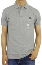 Polo Ralph Lauren Custom Fit Polo Shirt Basketball Bear Gray Mens Extra Large - $64.35