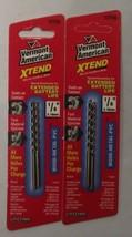 "Vermont American 12735 1/8"" x 2-3/4"" XTEND Fractional Drill Bit 2-2pks - $2.97"