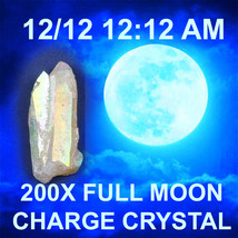 Haunted FREE W $49 200x 12/ 12 12:12 am FULL MOON QUARTZ CHARGE CRYSTAL ... - $0.00