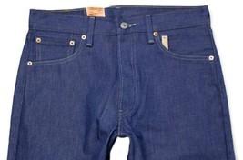NEW LEVI'S 501 MEN'S ORIGINAL STRAIGHT LEG JEANS BUTTON FLY BLUE 501-1404 image 2