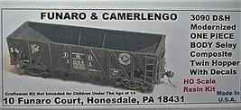 Funaro & Camerlengo HO D&H Seley twin hopper, modernized ONE PIECE BODY Kit 3090 image 1