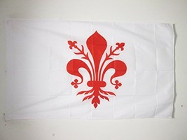 FLORENCE FLAG 3' x 5' for a pole - FIRENZE IN TUSCANY FLAGS 90 x 150 cm ... - $32.07