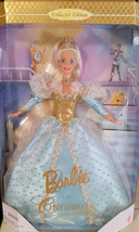 MATTEL NIB Collector Edition 1996 Barbie As Cinderella 11.5 Inch Doll B4110 - $19.79