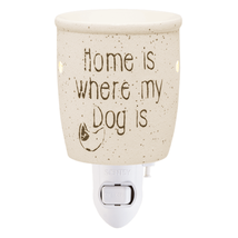 Scentsy Mini Warmer (new) HOME IS WHERE MY DOG IS - $24.61