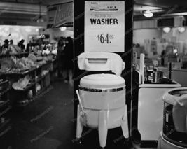 Sears Kenmore Wringer Washer $64.95  8x10 Reprint Of Old Photo - $20.10