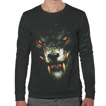 "Fashion Men's Full Printed 3D Sweatshirt. EU Sizes XS - 5XL ""Wolf"" - $42.52+"