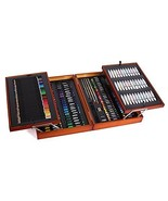 Mont Marte 174-Piece Deluxe Art Set, Art Supplies for Painting and Drawi... - $85.58