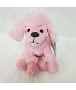 "6"" Animal Adventure Pink Poodle Dog Puppy Cuddle Zone Plush Lovey Toy B200 - $10.97"