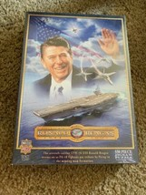 Ronald Reagan - New, Factory Sealed 550 Piece Jigsaw Puzzle (MasterPiece... - $18.80