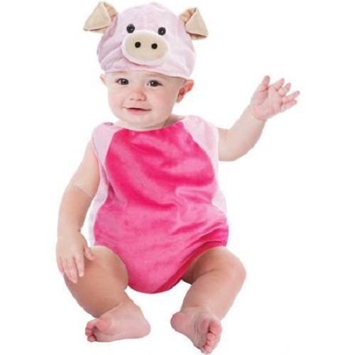 NEW Boys or Girls 0/9 or 9/18 Months Plush Bubble Halloween Costume Pig Giraffe