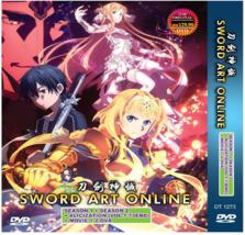 Sword Art Online DVD Complete Season 1+2 +Alizixzation + Movie + 2 OVA US Seller