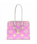 GoodLouis Vuitton ONTHEGO Tote Giant Pink Monogram bag 2019 ON THE GO M4... - $4,247.10