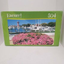 Encore Hilton Head Lighthouse 504 Piece Jigsaw Puzzle Factory New and Se... - $9.49