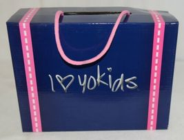 I Love Yo Kids AVA 92T Girls Fringe Boot Black Zip Up Size Six image 9