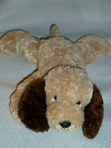 "TARGET CORP - tan & brown dog beanbag floppy - 10""L - $148.49"