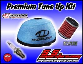 2007-2016 Yamaha YFZ450 Tune Up Kit Maxima Air Filter HiFlo Oil NGK Spark Plug - $24.95