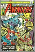 AVENGERS #143 KANG 1976 Marvel Comics 1st print & series WESTERN CHARACT... - $12.87