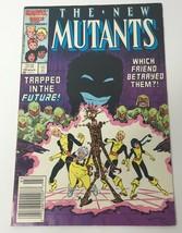 The New Mutants Comic Book Vol 1 No 49 March 1987 Marvel Comics Group 25... - $10.98