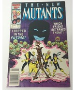 The New Mutants Comic Book Vol 1 No 49 March 1987 Marvel Comics Group 25... - $10.98