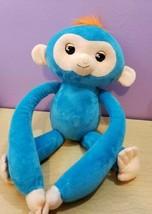 Fingerling Hugs BORIS blue Interactive advanced Plush Baby Monkey - $19.48