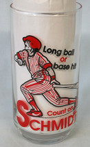 Pepsi Baseball 1981 Super Action Series Glass Mike Schmidt - $16.72