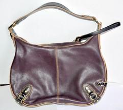 "Cole Haan Paige Medium Tote H06 Brown Handbag Bag Leather Sz 12 ½"" x 8"" ... - $27.00"