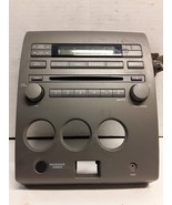 04 05 Nissan Titan 6 disc CD radio control panel only OEM 28908 75206A - $98.99