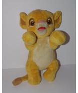 Disney Babies Simba Plush 14in The Lion King Stuffed Animal Cub Lovey - $9.99