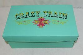 Crazy Train RUNWILD14 Black Pink Cheetah Sneakers Size 9 image 10