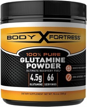 Body Fortress 100% Pure Glutamine Powder, Supports Post Workout Recovery... - $42.20