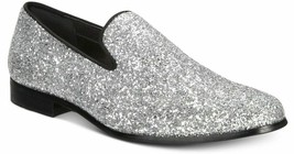 INC International Concepts I.N.C. Men's Triton Glitter Silver Slippers 9... - $35.00