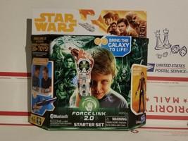 Star Wars Force Link 2.0 Starter Set Han Solo Force Link Wearable Techno... - $12.00