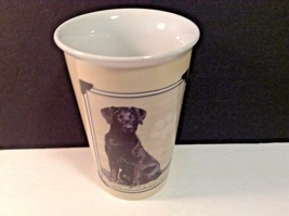 "I Love My Labrador Coffee Cup Mug Black Lab Ceramioc 5.25"" x 3.5"" Diam - $14.03"
