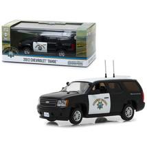 2012 Chevrolet Tahoe California Highway Patrol Black and White 1/43 Diec... - $27.20