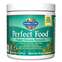 Garden of Life Whole Food Vegetable Supplement - Perfect Food Green Superfood... - $28.39