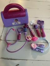 Disney Doc McStuffins Doctor Bag Set, 9 pcs  Medical Pretend Play Toy Pu... - $12.19
