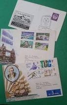 British FDC's Cook's Voyage,British Bridges, Scarborough Congress all 19... - $3.75