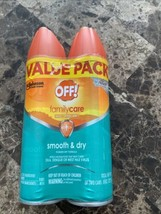 2-Pack OFF! Smooth & Dry Family Care Mosquito Insect Repellent - $14.84