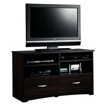 Sauder Beginnings TV Stand with Drawers, Cinnamon Cherry NEW - $150.59