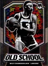 2019-20 Panini Mosaic Old School #18 Wilt Chamberlain Lakers - $6.95