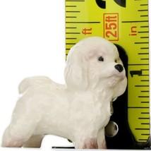 Hagen Renaker Dog Bichon Frise Ceramic Figurine image 2