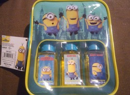 Minions Travel Bath Set - Banana Scent Shampoo Hair Gel Body Wash Despic... - $8.29